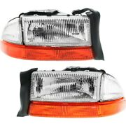 Headlight Lamp Left-and-right Ch2503122 Ch2502122 55055110ai 55055111ai