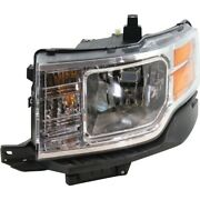 Headlight Lamp Left Hand Side Driver Lh For Ford Flex 09-12 Fo2502266 8a8z13008b