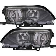 Headlight Lamp Left-and-right For 320 325 330 Bm2503122 Bm2502122 Lh And Rh 325i