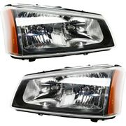 Gm2503257 Gm2502257 Headlight Lamp Left-and-right For Chevy Avalanche Lh And Rh