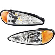 22672207 22672208 Gm2503196 Gm2502196 Headlight Lamp Left-and-right Lh And Rh