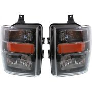 Fo2503285c, Fo2502285c Headlight Lamp Left-and-right For F250 Truck F350 F450