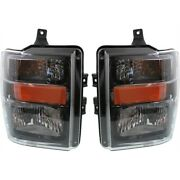 Fo2503285c Fo2502285c Headlight Lamp Left-and-right For F250 Truck F350 F450