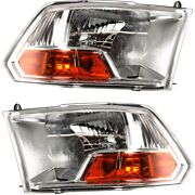 Headlight Lamp Left-and-right For Ram Truck Ch2503217c, Ch2502217c Lh And Rh 1500