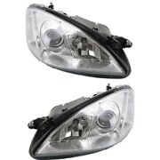 Headlight Lamp Left-and-right For Mercedes S Class Mb2503160, Mb2502160 Sedan