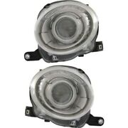 Headlight Lamp Left-and-right Fi2503100 Fi2502100 5182429ae 5182428ae Lh And Rh