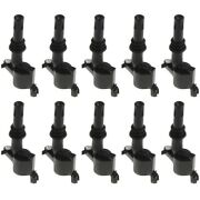 Ignition Coil For 2005-2008 Ford F-250 Super Duty Set Of 10