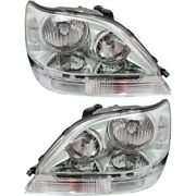 Hid Headlight Lamp Left-and-right Hid/xenon Lx2503116 Lx2502116 Lh And Rh