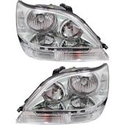 Hid Headlight Lamp Left-and-right Hid/xenon Lx2503116, Lx2502116 Lh And Rh