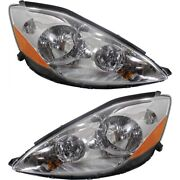 Hid Headlight Lamp Left-and-right Hid/xenon To2503175 To2502175 Lh And Rh