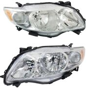 8113012c20 8117012c20 To2519116 To2518116 Headlight Lamp Left-and-right