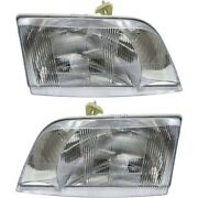 Headlight Lamp Left-and-right 8082041, 8082040 Lh And Rh For Volvo Vn Vnl Vnm