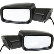 Ch1321357, Ch1320357 Mirrors Set Of 2 Left-and-right Heated Lh And Rh For Ram Pair