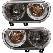 Headlight Lamp Left-and-right Ch2519137c Ch2518137c 5028777aa 5028776aa