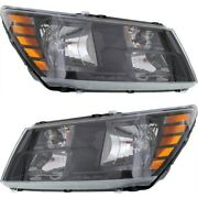 Headlight Lamp Left-and-right Ch2503265 Ch2502265 68200084aa 68200085aa