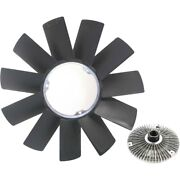 Fan Clutches Radiator Cooling Set Of 2 For 323 325 11527505302, 11521712058 Pair