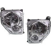 Headlight Lamp Left-and-right Ch2502199c Ch2502233c Ch2503199c Ch2503233c