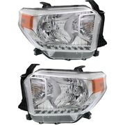 Headlight Lamp Left-and-right To2503218c To2502218c 811100c080 811500c080