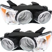 Headlight Lamp Left-and-right For Chevy Gm2503396 Gm2502396 95355798 95355797