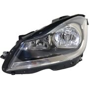Mb2502186 Headlight Lamp Left Hand Side For Mercedes C Class Driver Lh Coupe