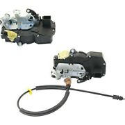 Door Lock Actuators Set Of 2 Rear Left-and-right For Chevy Lh And Rh Tahoe Pair