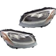 Mb2503220 Mb2502220 Headlight Lamp Left-and-right For Mercedes C Class Coupe
