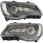Headlight Lamp Left-and-right Ch2503269 Ch2502269 68214382ad 68214383ad