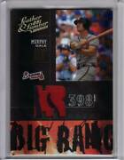2005 Donruss Leather And Lumber Dale Murphy Big Bang Game Worn Patch Prime 5/5