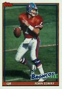 1991 Topps Football You Pick/choose Cards 482-660 Rc Stars Free Shipping