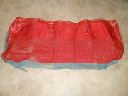 Vintage 1958 1959 1960 1961 1962 Gm Chevrolet Chevy Back Seat Upper Red Cover