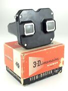 Vintage View Master Model E In Box 3d Dimensional Viewer Sawyers Viewer L635