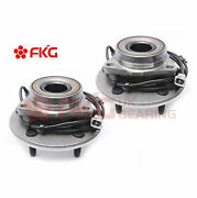 Front Wheel Bearing Hub Assembly For 2000 2001 Dodge Ram 1500 4x4 W/abs 515039x2