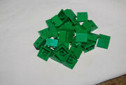 D Lego 2 X 2 Green Slope Lot 25 3039 3724 79003 9762 7144