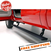 Amp Research 75104-01a Powerstep Cab Length Black Electric Running Boards