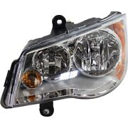 Headlight Lamp Left Hand Side For Town And Country Driver Lh Ch2502192 5113337ag