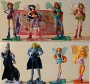 Winx Club Complete Set With All Papers Kinder Surprise 2013 Ferrero