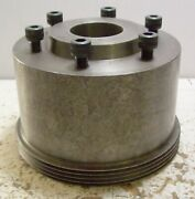 Jacobs Spindle Nose Lathe Chuck Adapter Ring Unknown Lathe Application