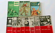 Vintage Boy Scout 11 Book And Booklet Assortment
