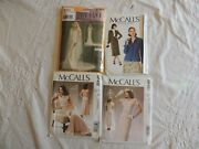 1920/30's Reproduction Sewing Patterns Simplicity And Mccalls Patterns Set Of 4