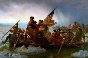 Poster, Many Sizes George Washington Crossing The Delaware