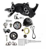 Holley 20-187bk Ls Engine Swap Mid-mount Race Accessory System- Black Finish
