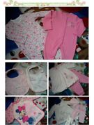 37x Autumn Minnie New Bundle Outfits Baby Girl Clothes 0/3 M 3/6 Mths+ Nc