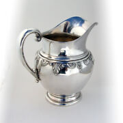 Stradivari Water Pitcher Wallace Sterling Silver 1937