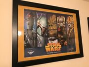 Celebration 5 Framed Print With All 4 Printing Plates Art By Kevin Graham