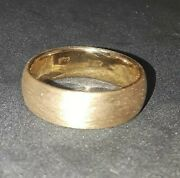 New 2020 Frosted 22k Solid Gold Bullion 1/2ozt Ring Joey Nicks Anarchy Jewelry D