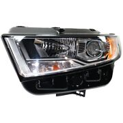 Headlight Lamp Left Hand Side Driver Lh Fo2502341 Ft4z13008f For Ford Edge 15-18