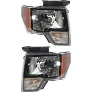 Headlight Lamp Left-and-right For F150 Truck Fo2503289c, Fo2502289c Lh And Rh Ford