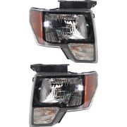 Headlight Lamp Left-and-right For F150 Truck Fo2503289c Fo2502289c Lh And Rh Ford
