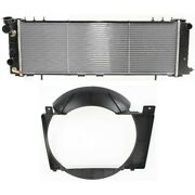 Radiator Kit 52079682af 52027501ac For Jeep Cherokee Comanche 1991-1992