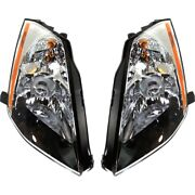 Ni2503182 Ni2502182 Hid Headlight Lamp Left-and-right Hid/xenon Lh And Rh